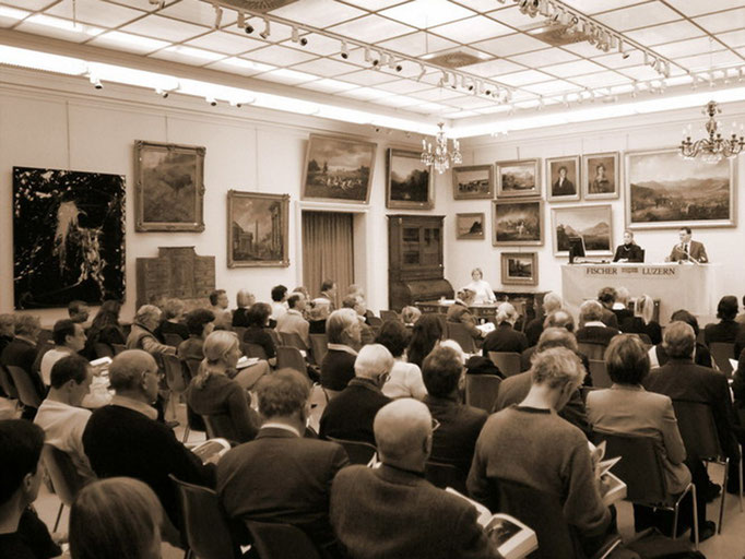 Hall, Fine Art Auction sale in 2006