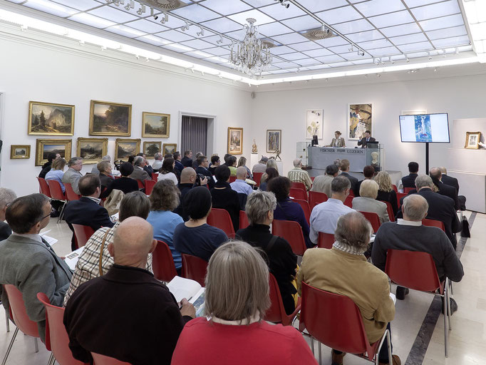 Hall, Fine Art Auction sale in 2014