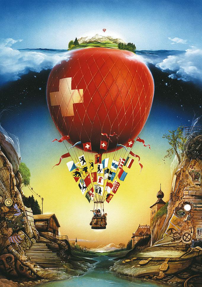 Schweizer Ballon - Carl-W. Röhrigs Classics