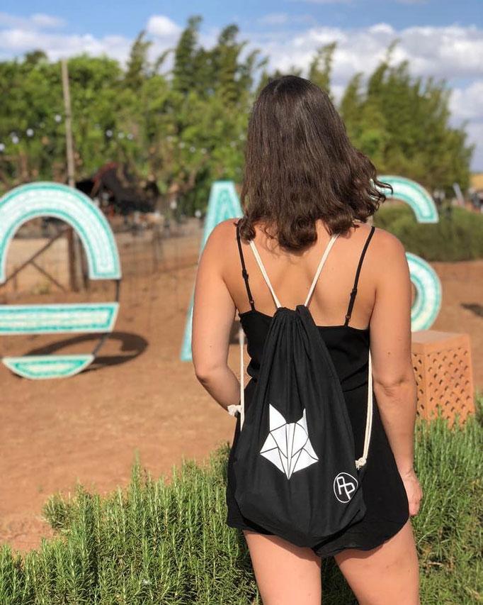 AP-Bags Roxy Raverglueck Oasis Festival Outfit Turnbeutel Party