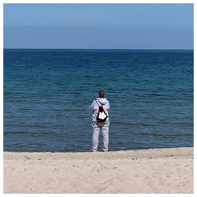 AP-Bags Natalie Timmendorfer Strand Ostsee Deutschland Sonne Strand Meeh Urlaub Turnbeutel