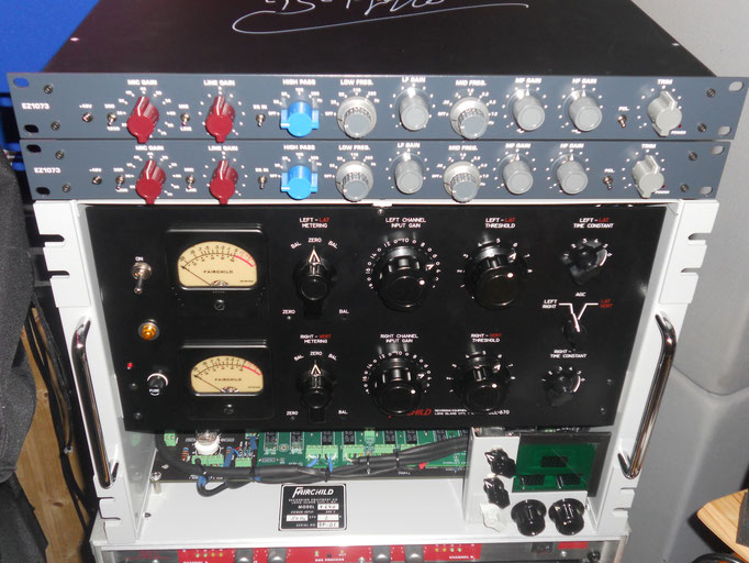 die beiden Neve 1073 Micprer/EQ Clones :-) (www.audiomaintenance.com)