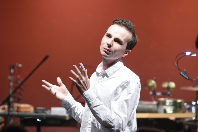 Der Komponist Adrien Trybucki / (c) Stephan Pflug