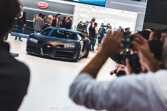 Bugatti Chiron 110 ans