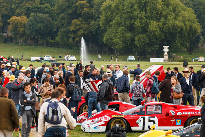 Les Ferrari des 24 Heures du Mans : les prototypes fermés - Chantilly 2017