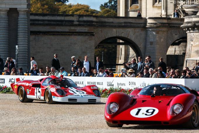 Ferrari 312 P #0872 – 1969 & Ferrari 512 S #1016 – 1970