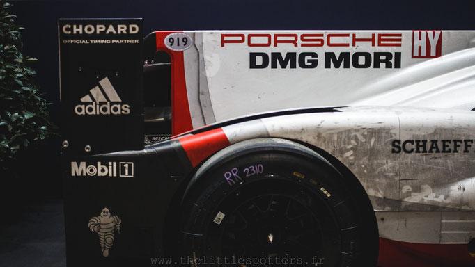 Porsche 919 Hybrid victorieuses aux 24 Heures du Mans 2017