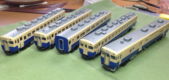 フリーランス 九州小倉試験色 キハ58系