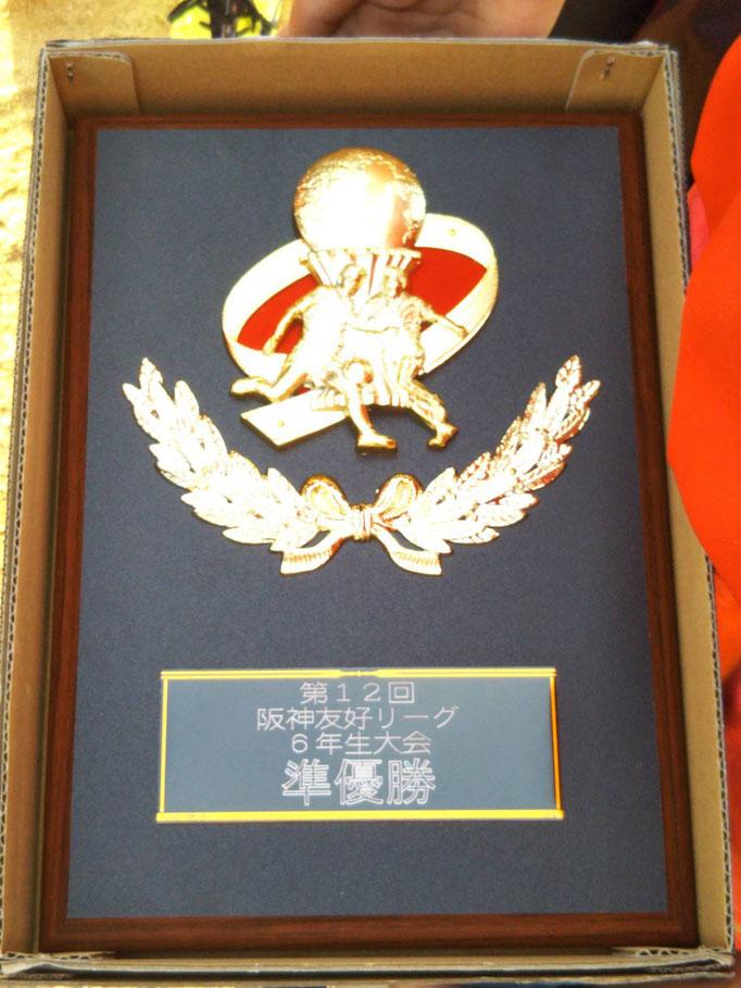 第12回阪神友好リーグ 準優勝
