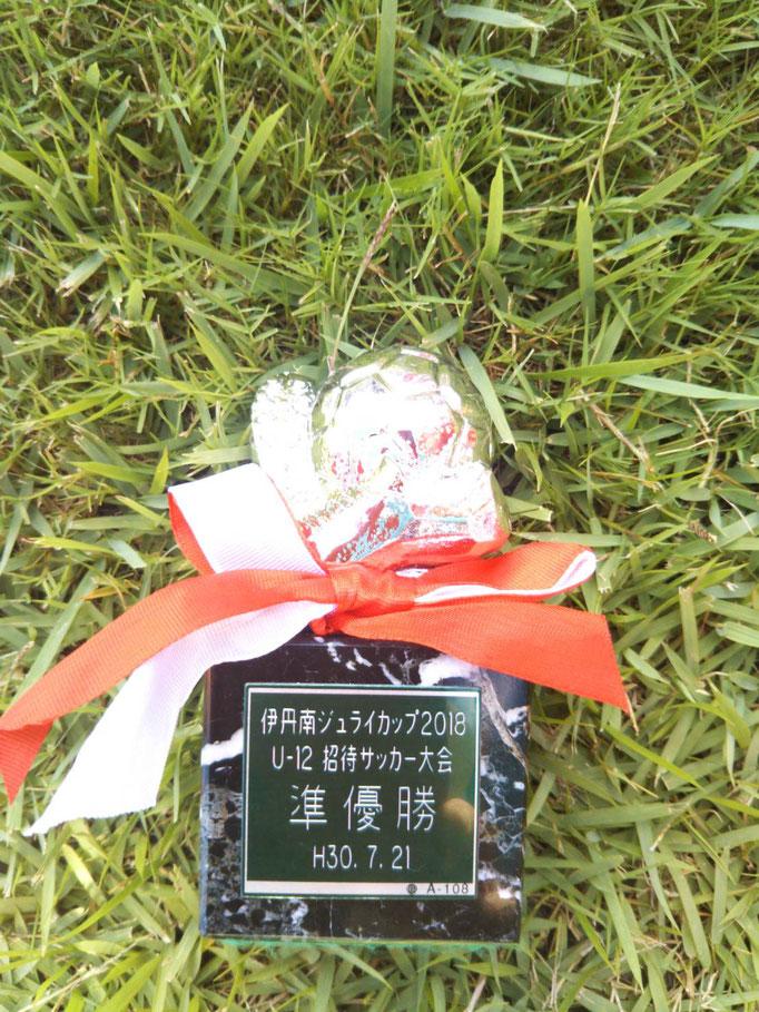 伊丹南JulyCup 準優勝
