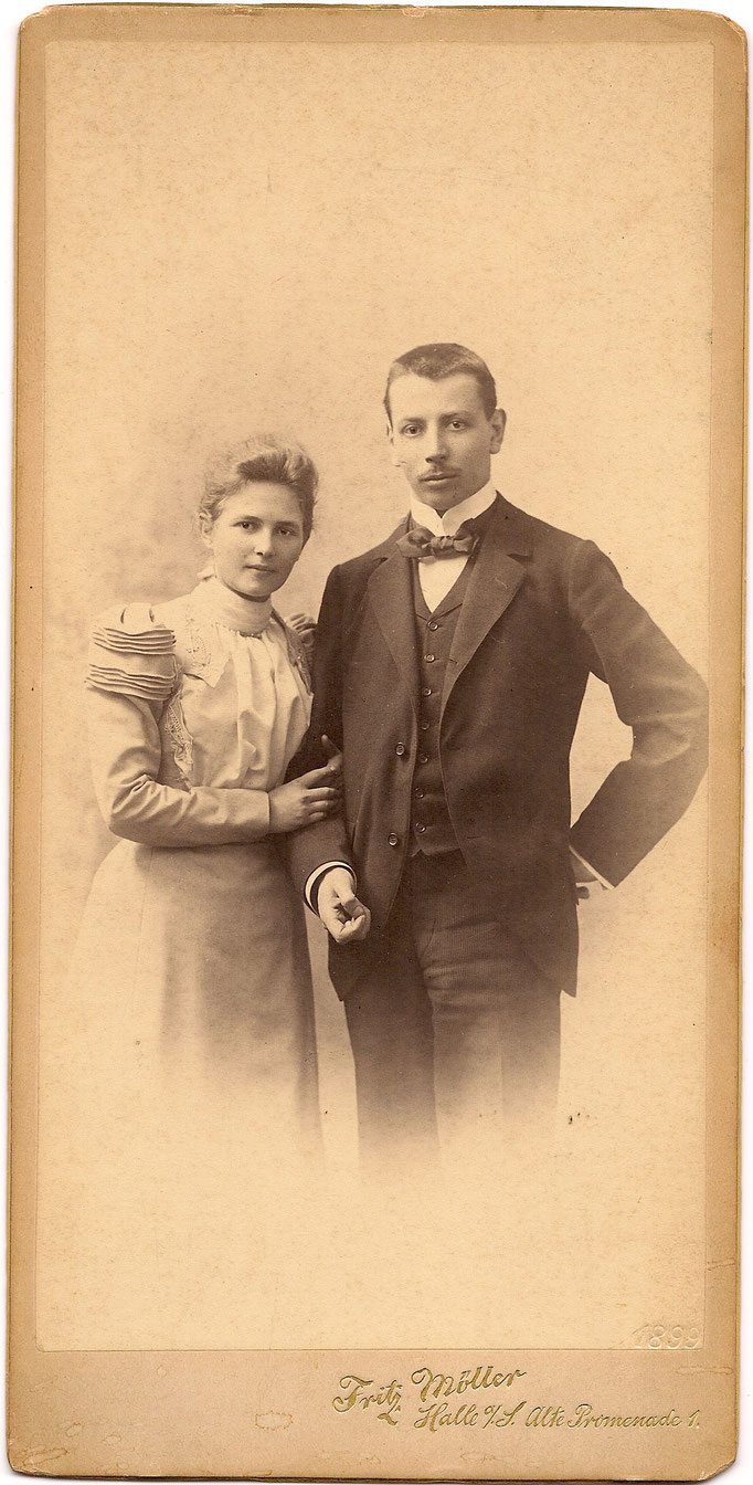 Verlobung Fritz & Irmgard Litten