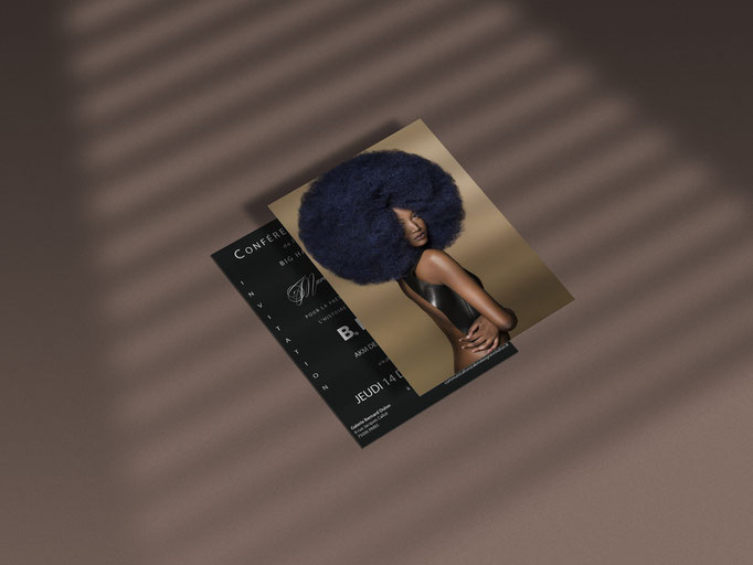 Prise de vue - Retouche - Conception Flyer