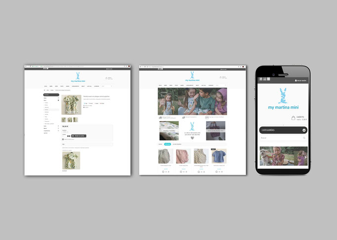 Diseño y desarrollo de tienda online para My Martina Mini