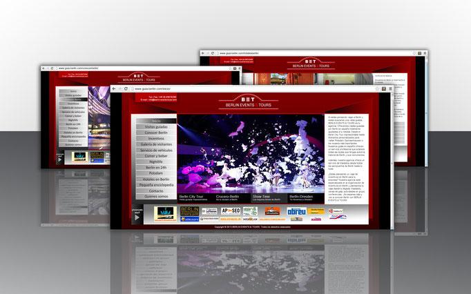 Diseño, desarrollo Web y SEO para BET