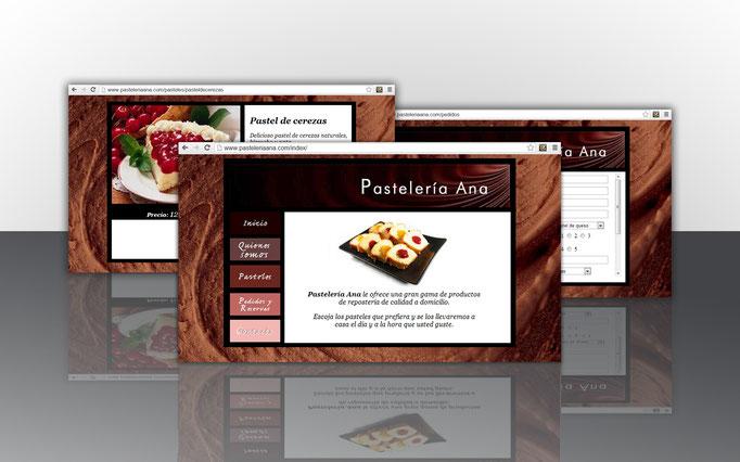 Pastelería Ana (Web Design)