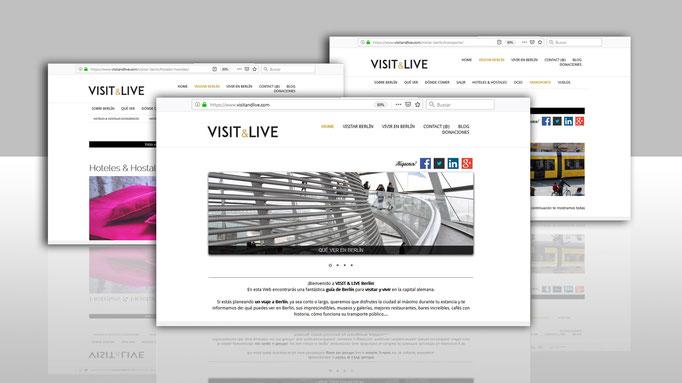 VISIT & LIVE (WEB DESIGN & SEO & SOCIAL MEDIA)