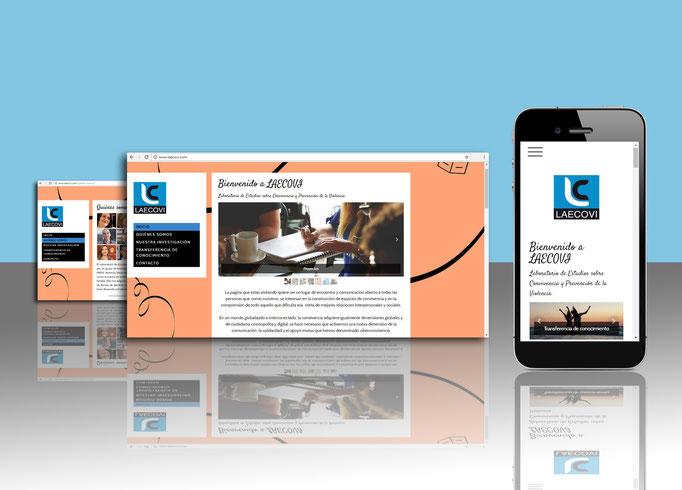 Diseño y desarrollo Web para LAECOVI , Universidad de Córdoba