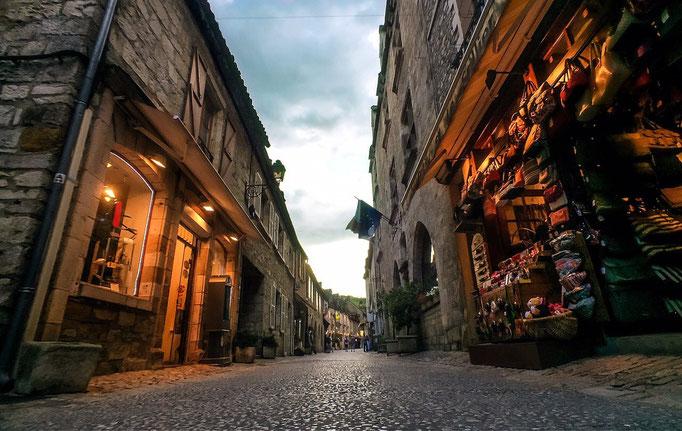 Winkelstraat in Cahors
