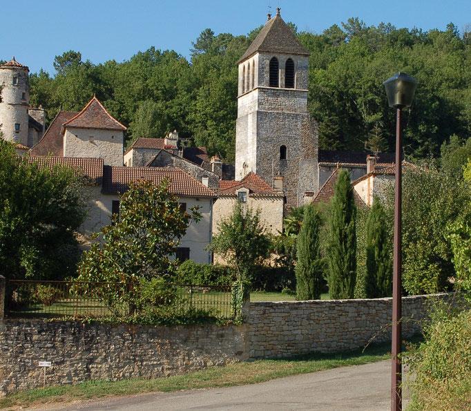 Het dorpje Lherm ligt 1,5 km verderop.