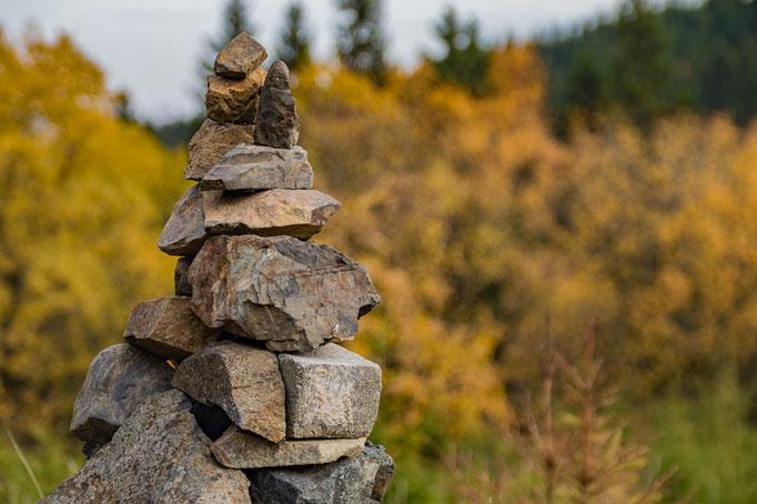 Ein Trum aus Steinen