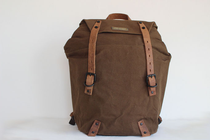 Margelisch Laptoprucksack in Canvas