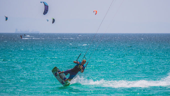 Learn tricks kitesurfing