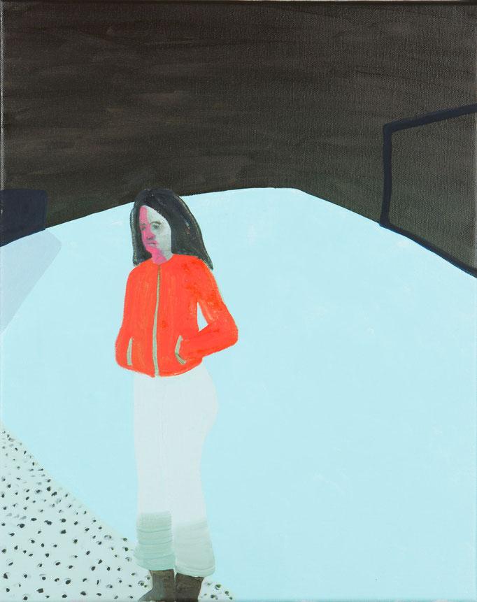 Girlhood/40x50cm/oil on canvas