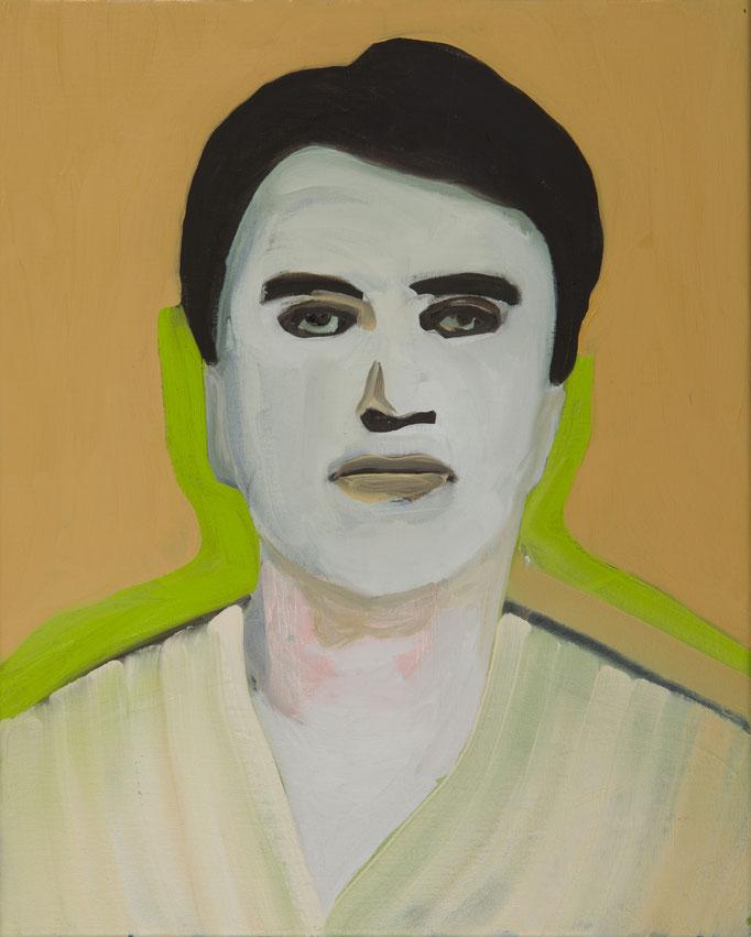 MugShot / 41 x 51 cm / oil on canvas