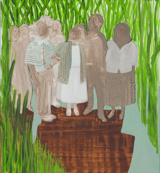 Family/55x50cm/oil on canvas