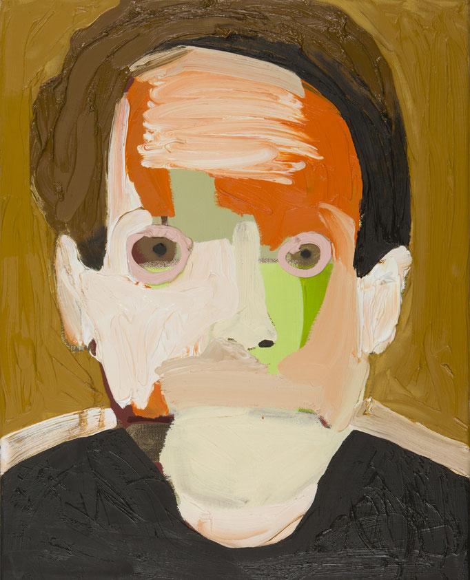 MugShot / 40 x 50 cm / oil on canvas