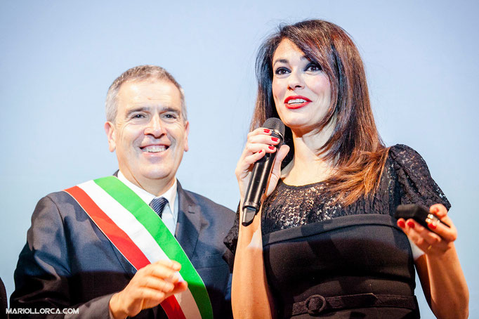 MARIA GRAZIA CUCINOTTA. Italian Actress.