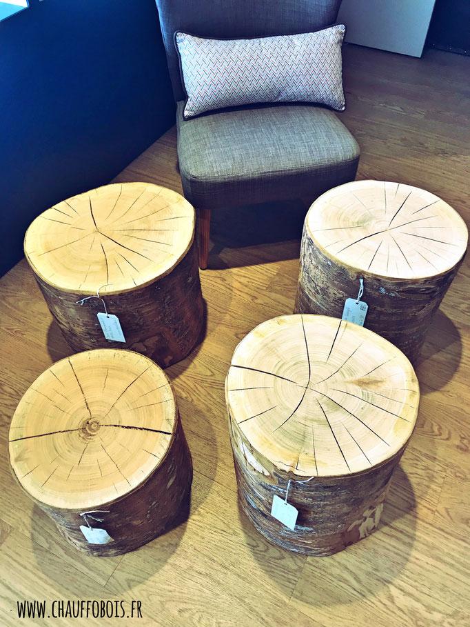 bout canapé chene massif bois 49