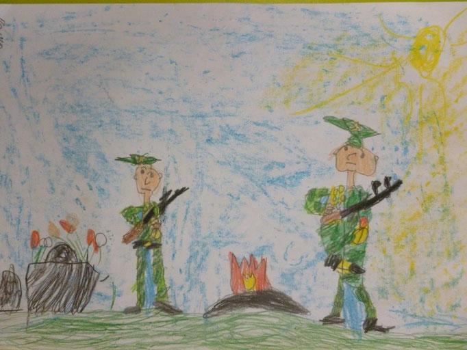 """Почетный караул"", Шумков Павел, 7 лет"
