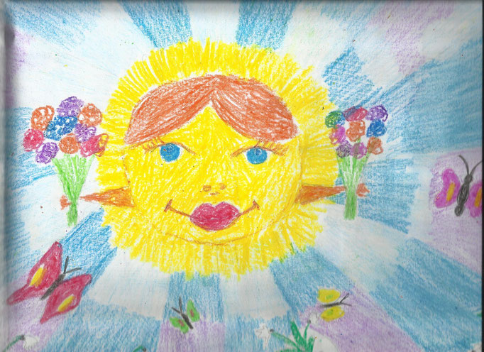 «Мы за мирное солнце над головой», Царева Мария, 5 лет