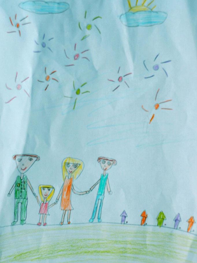 «Мы за мир!», Денисенко Вика, 8 лет
