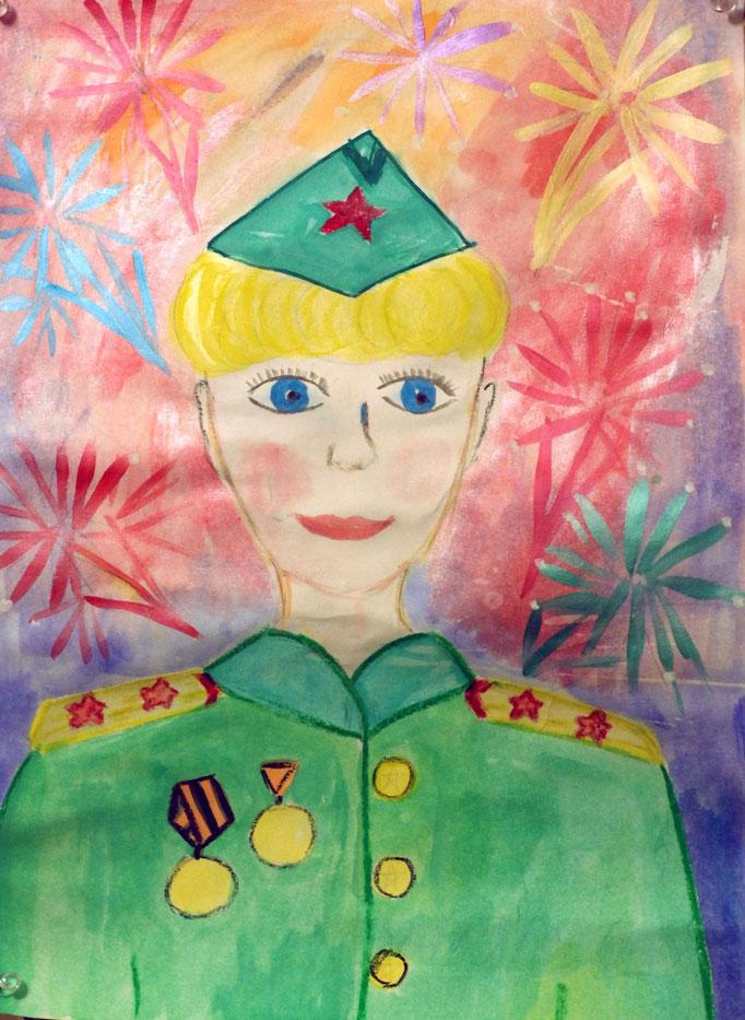 «Спасибо за Победу!», Иванова Даша, 7 лет