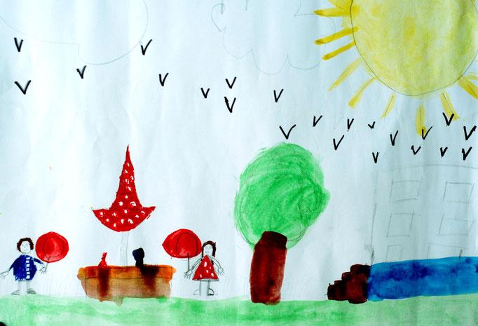 «Мир без войны», Исаев Денис, 9 лет