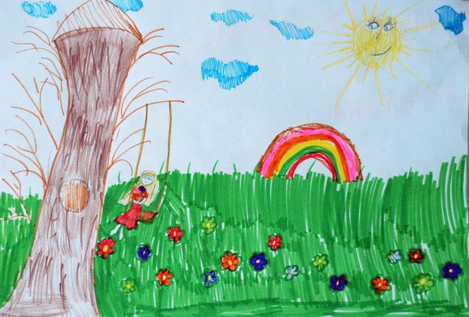 «Жизнь без войны», Риттер Ангелина, 8 лет