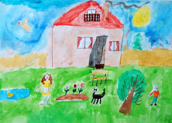 «Жизнь без войны», Шайковская Валерия, 7 лет