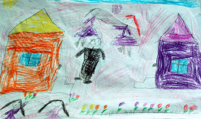 «Мирная жизнь», Зезюля Маша, 7 лет