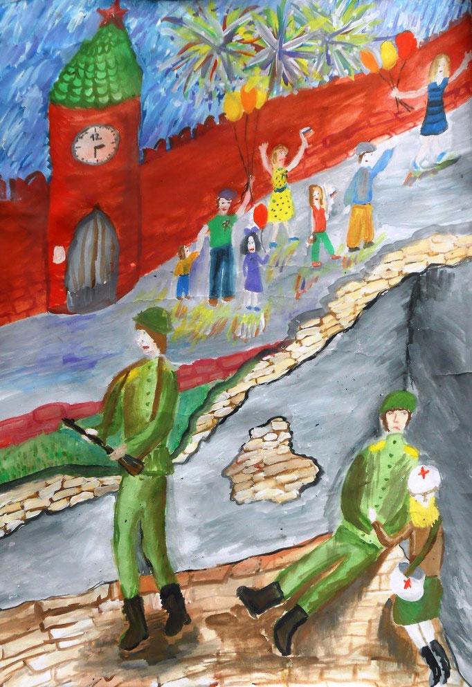 «Война и мир», Банных Анастасия, 10 лет