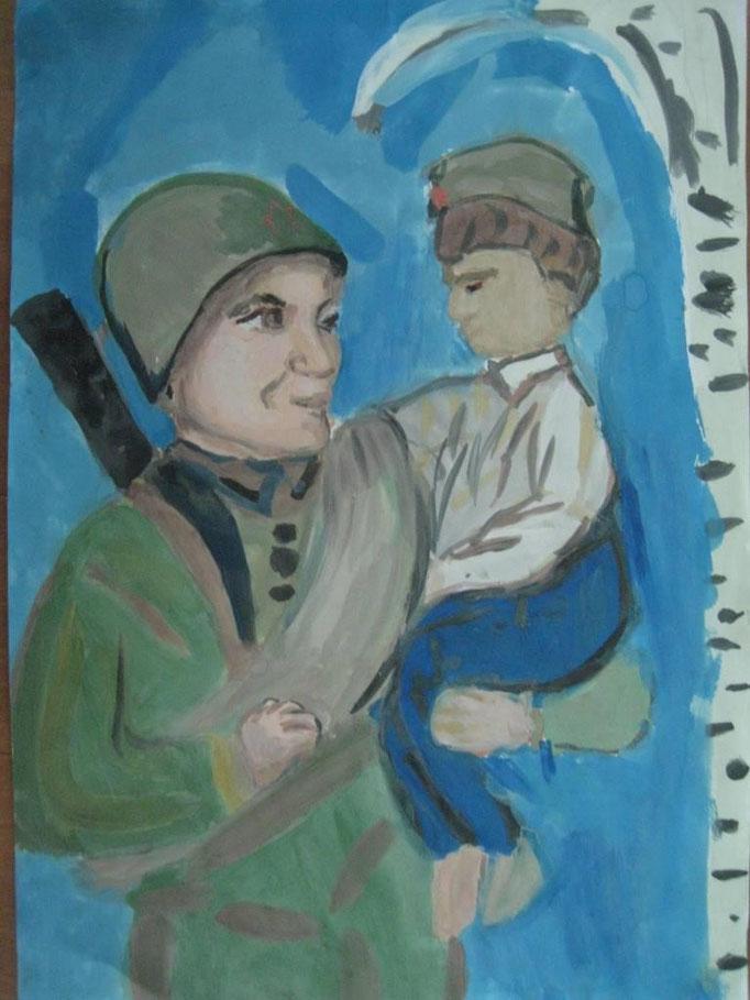 «Кровинушка…», Медетбекова Диана, 8 лет