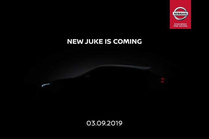 Teaser du JUKE 2 : 19 Août 2019