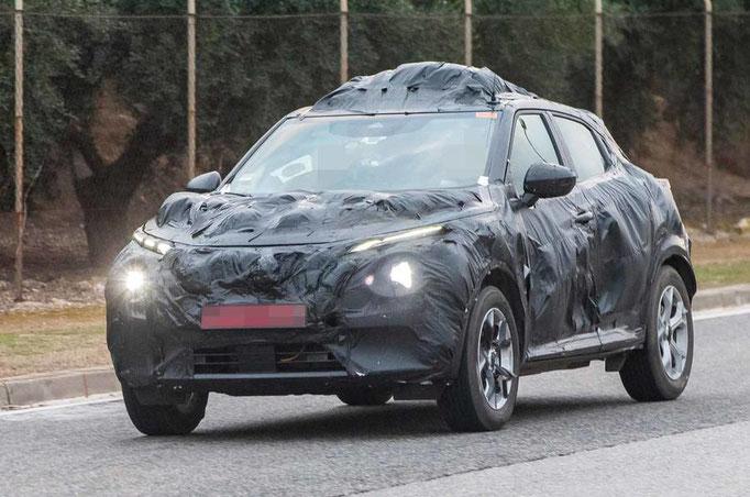 Le futur Nissan JUKE 2 se dévoile