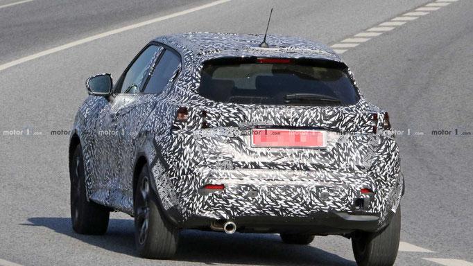 Photos camouflés du nouveau Nissan JUKE 2019
