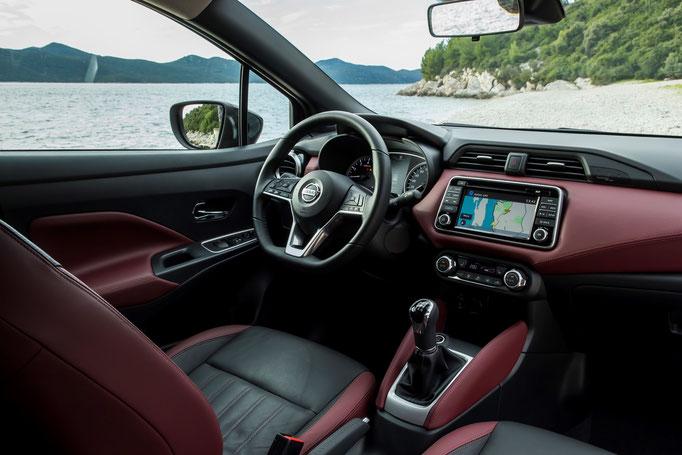 Nissan Micra 2017 intérieur cuir passion en option