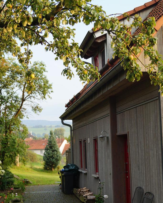 Ferienhaus Kaskadenschlucht  bei Gersfeld / Rhön  - Herbst