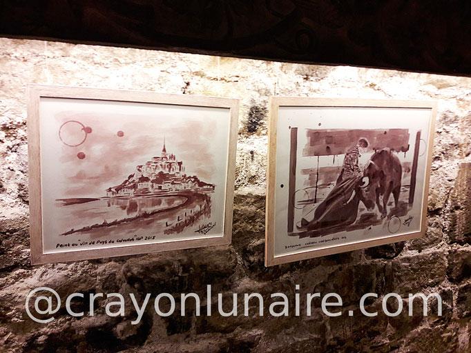 Peinture-au-vin-le-mont-saint-michel