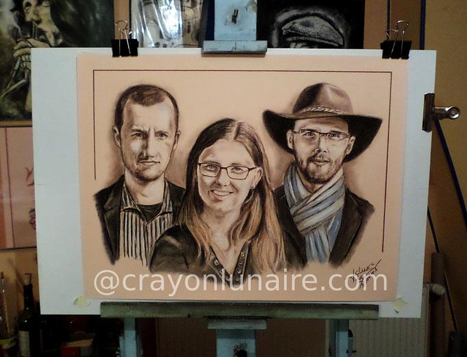 Portrait-de-famille-au-pastel-sec