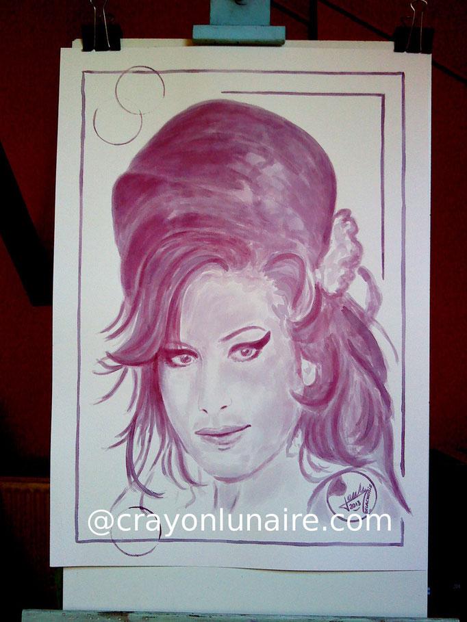 Amy Winehouse : Menetou salon 2010.